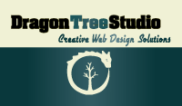 Dragon Tree Studio - Business Card Front Side