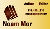 Noam Mor Business Card